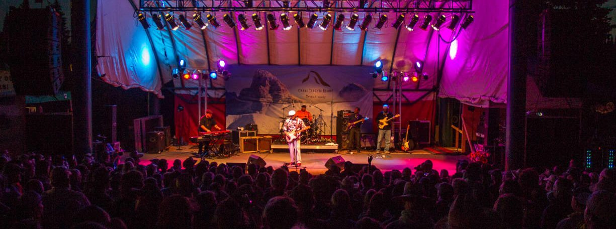 2014 Grand Targhee Music Festival Concert Summer Event Resort Wyoming Ski